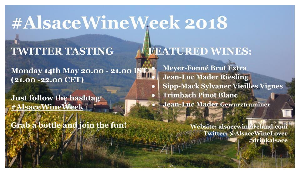 Alsace Twitter Tasting