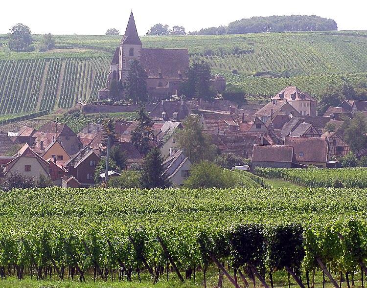 Village of Hunawihr, Alsace